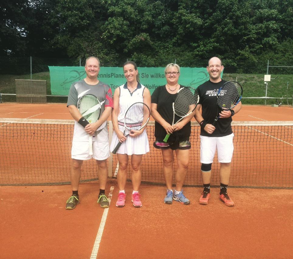 Vereinsmeisterschaft beim Tennisclub Blau-Weiß erfolgreich beendet