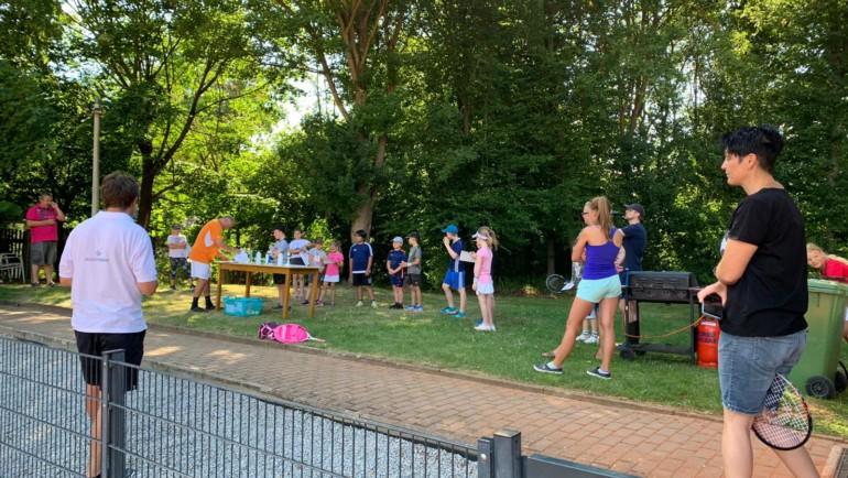 Kinder des Tennisclubs TC BW Rosenberg erreichen das DTB-Sportabzeichen