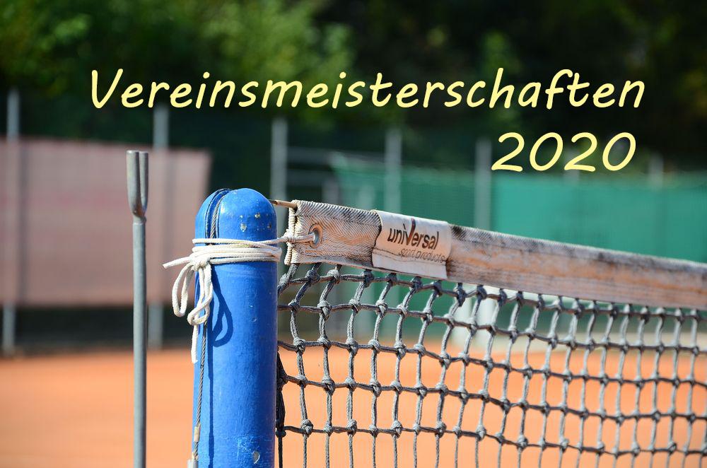 Ergebnisse der Vereinsmeisterschaften 2020
