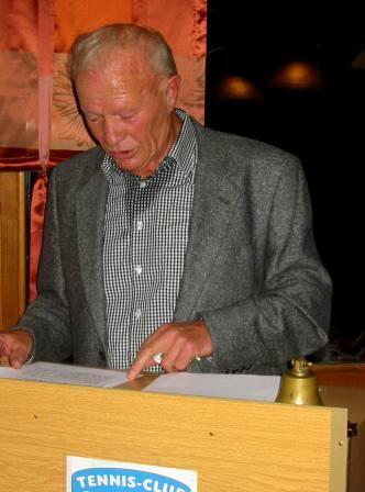 Die Rede des 1. Vorsitzenden, Heinz Beer, anlässlich der Jahreshauptversammlung 2013