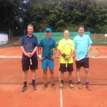 Vereinsmeisterschaft beim Tennisclub Blau-Weiß